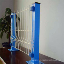 Valla de panel de malla 3D / Valla de malla recubierta de PVC