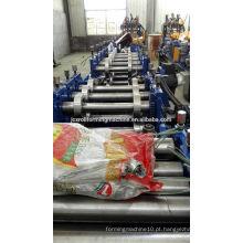 Máquina de formação de rolos de aço de canal c