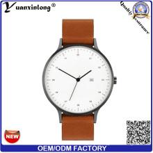 Yxl-403 Fashion Ladies Mens Quartz Wrist Watches Genuine Leather Luxury Men′s Watch Pormotional Wholesale Watches