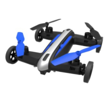 Aerial view drone with Wifi