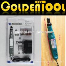 Portable Hobby Rotary Power Engraver Carver Polisher Drill Tools Die Grinder Electric 10pcs 18v Cordless Mini Grinder kit
