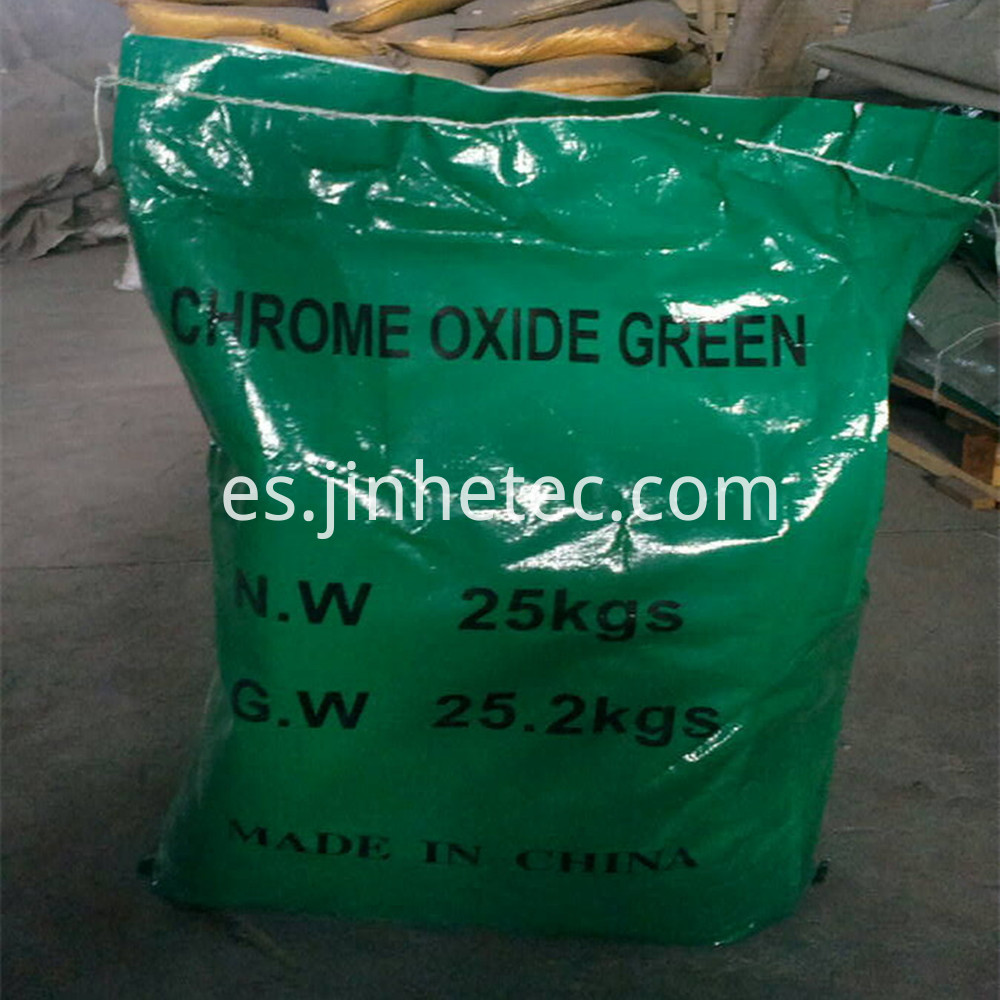 Chrome Oxide Green For Glass