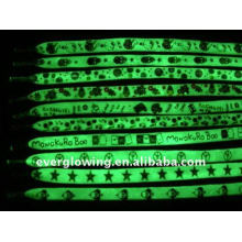 glowing light shoelace with logo