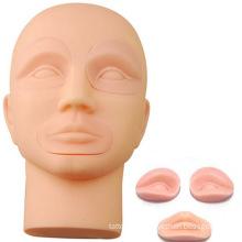 Hotsale 3D head tattoo artificial skin