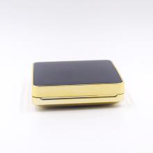 square luxury powder puff air cushion case empty bb cushion powder case with mirror