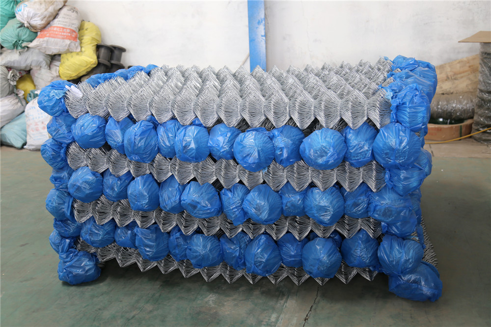 Hot Dipped Galvanized Wire Chain Link Fence