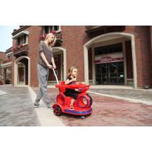 Carro elétrico de brinquedo para bebê com balanço e música