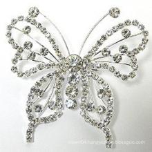 Wholesale Women Jewelry Vintage Beautiful Butterfly Brooch Pin