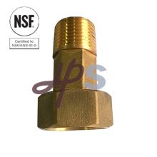 Laiton forgé sans plomb compteur d'eau queue norme NSF-61 matériel