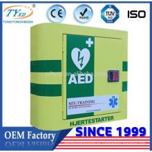Armario de primeros auxilios de productos nuevos de Direct Factory Hsinda-Cabinet para desfibrilador AED