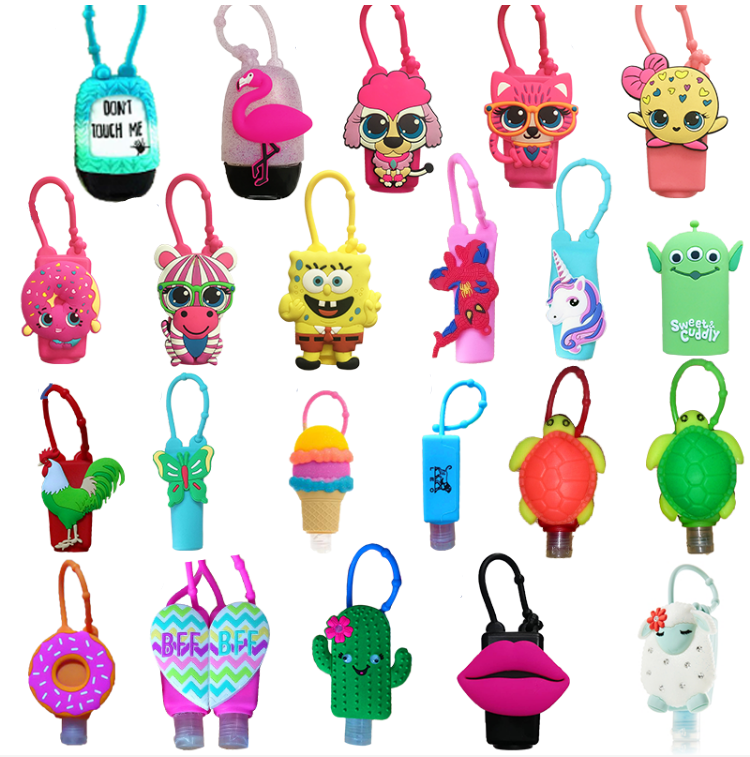 Silicon Hand Sanitizer Holder