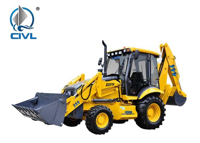 Xcmg Xc870k Chinese Wheel Excavator And Backhoe 02