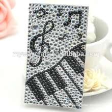 Square Shape Self-adhesive Rhinestone Crystal Sheets Stickers for Home Decoration