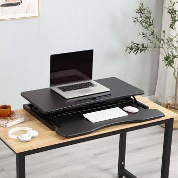 Conversor ergonômico de mesa para escritório
