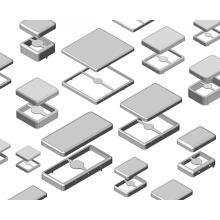 EMI / RFI shielding metal part