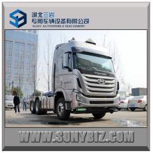 410HP Hyundai Anhänger LKW 6X4 Traktor Kopf LKW