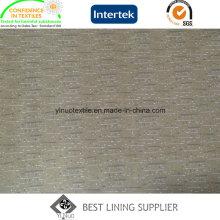 Fabricante de la tela de la guarnición de la chaqueta de la impresión de la tela cruzada de la moda 260t