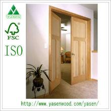 Compuesto de madera Panel Interior de madera Puerta