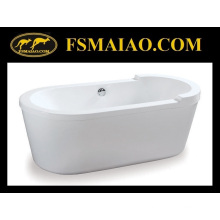 Baño de baño de forma redonda bañera de acrílico (BA-8517)