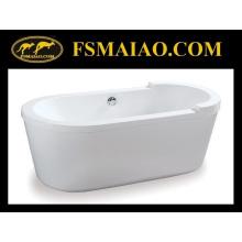 Banheiro Banheira autônoma acrílica de forma redonda (BA-8517)
