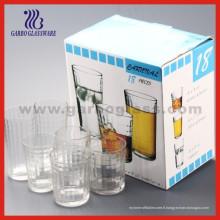 Set de vasque en verre 18PCS, ensemble de verrerie (TF-18C)
