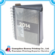 Cheap A5 spiral YO notebook with custom printing A4 journal