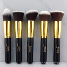 Brosse de maquillage Kabuki de Bronze à l'or Bronze (TOOL-13)