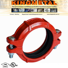 """Fire Fitting 5"""" Ductile Iron Rigid Coupling Victaulic Instead."""