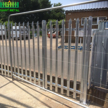 High Quality steel palisade security fencing Factory sale