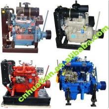 Moteur diesel refroidi à l'eau 13,5 KW-200KW avec CE / ISO certifié