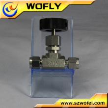 Válvula de esfera manual da torneira do ss 316L
