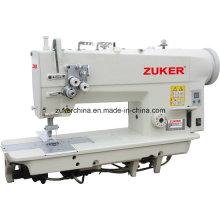 Zuker Direct Drive 2-aiguille Double-aiguille à point noué Machine à coudre industrielle (ZK842D)