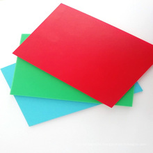 Factory Direct Sell A4 Size Rigid PP Plastic Binding Cover Sheet