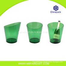 Custom wholesale promotion custom clear ice bucket