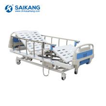 SK004 Adjustable Metal Electric Remote Control Motorized Hospital Patient Bed