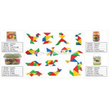 Children School tangram puzzle Building block