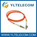 Corde de correction optique de fibre de multimode de PC LC avec la perte élevée de retour, corde de correction d'APC