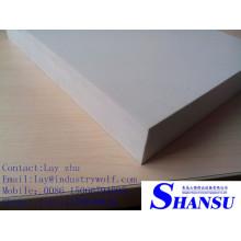 Tablero de la muestra del PVC, panel del encofrado del hormigón del pvc, tablero de la espuma del pvc
