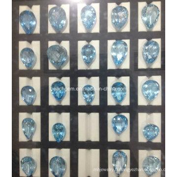 Topaze bleue, création de bijoux