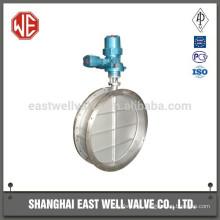 Pneumatic power butterfly valve