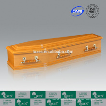LUXES MDF Coffins Australian Style Colorful Coffins With Coffin Lining