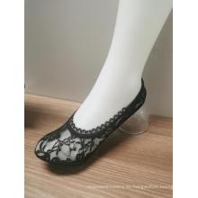 Calcetines invisibles de la señora del cordón de la venta caliente