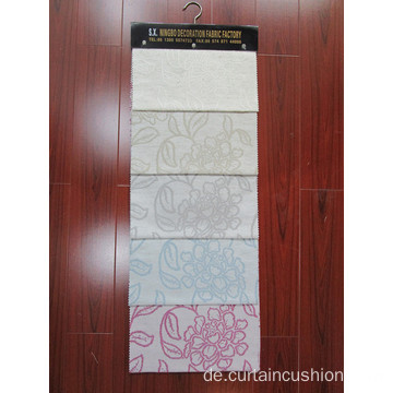 Hot Sale Polyester Leinen Fenster Jacquard Stoff