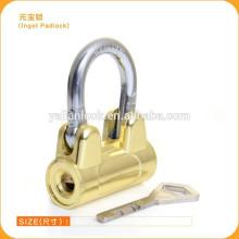Nuevos forros de lengüeta de los surtidores de China de la venta caliente del diseño, cerradura barata de la puerta del precio de la seguridad del candado de la forma del ala de Titaniuim