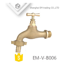 EM-V-B006 Rosca de latón macho grifo válvula válvula de bola