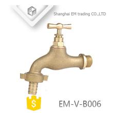 EM-V-B006 Filetage mâle laiton bibcock robinet à boisseau sphérique bibcock