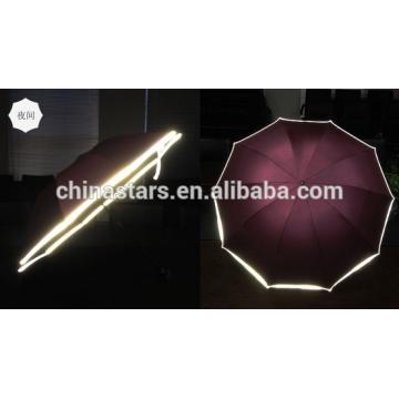 Hi-visible reflective waterproof umbrella