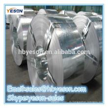 Hecho en China tira de acero galvanizado