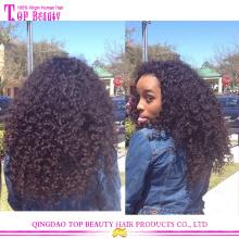 Высокое качество 5А афро курчавый бразильский дорогие парики человеческих волос