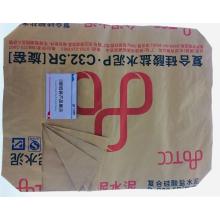 Bolsa de cemento de papel kraft con impresión lexicográfica